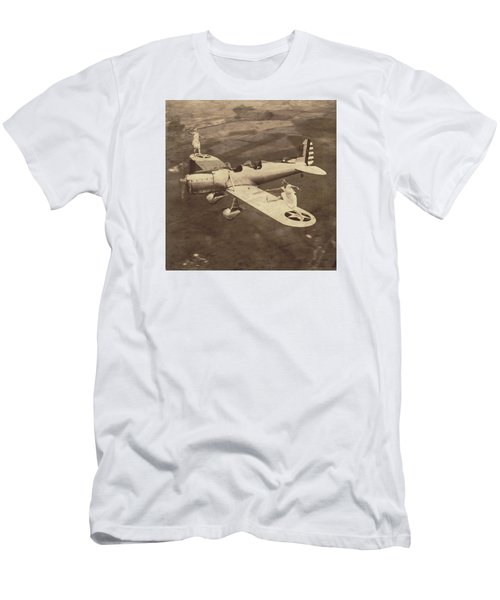Extreme Tennis Men's T-Shirt (Slim Fit) by Marian Voicu