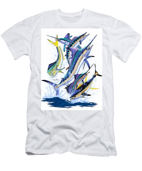 Gamefish Digital Men's T-Shirt (Slim Fit) by Carey Chen