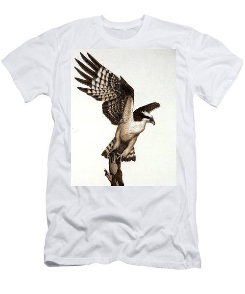 Going Fishin' Osprey Men's T-Shirt (Slim Fit) by Pat Erickson