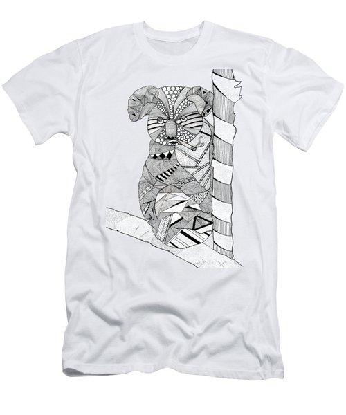 Goo Men's T-Shirt (Slim Fit) by Serkes Panda