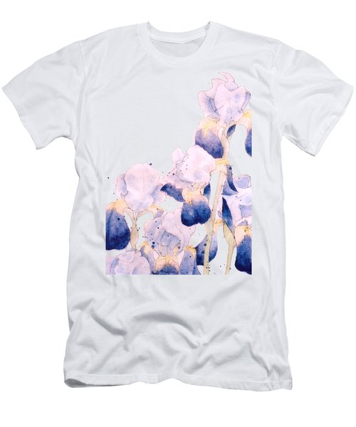 Graceful Iris Men's T-Shirt (Slim Fit) by Gail Maguire