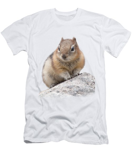 Ground Squirrel T-shirt Men's T-Shirt (Slim Fit) by Tony Mills