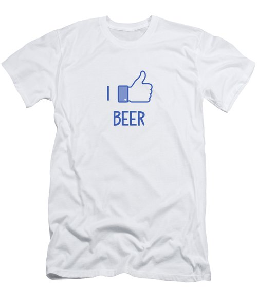 I Like Beer Men's T-Shirt (Slim Fit) by Citronella Design