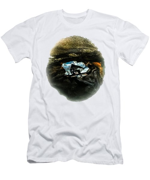 I Seen The Yeti Men's T-Shirt (Slim Fit) by Gary Keesler