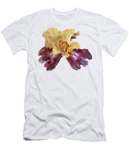 Iris T Shirt Men's T-Shirt (Slim Fit) by Nancy Pauling