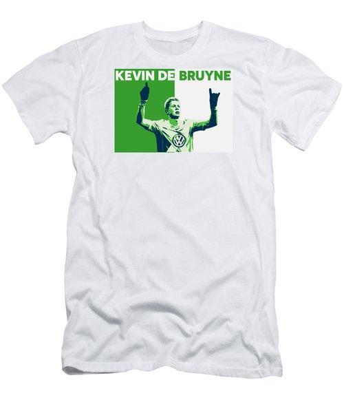 Kevin De Bruyne Men's T-Shirt (Slim Fit) by Semih Yurdabak