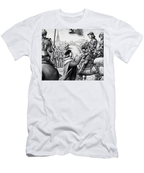 King Henry Vii Men's T-Shirt (Slim Fit) by Pat Nicolle