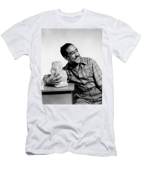 Langston Hughes (1902-1967) Men's T-Shirt (Slim Fit) by Granger