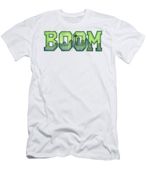 Legion Of Boom Men's T-Shirt (Slim Fit) by Olga Shvartsur
