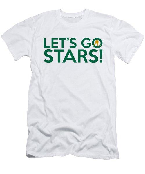 Let's Go Stars Men's T-Shirt (Slim Fit) by Florian Rodarte