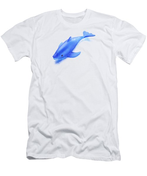 Little Rubber Fish Men's T-Shirt (Slim Fit) by YoPedro