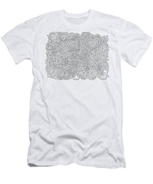Love Berlin Men's T-Shirt (Slim Fit) by Tamara Kulish