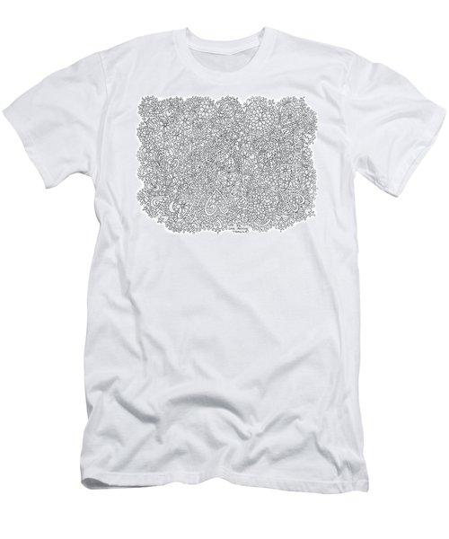 Love Moscow Men's T-Shirt (Slim Fit) by Tamara Kulish