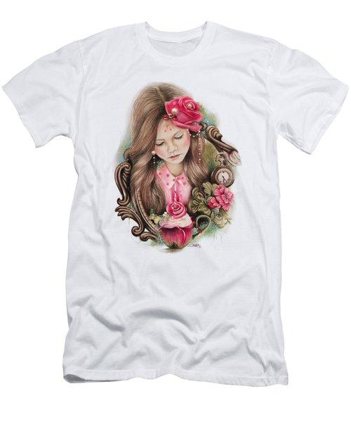 Make A Wish  Men's T-Shirt (Slim Fit) by Sheena Pike