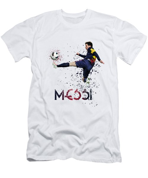 Messi Men's T-Shirt (Slim Fit) by Armaan Sandhu