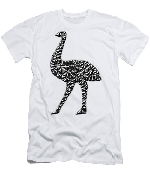 Metallic Emu Men's T-Shirt (Slim Fit) by Chris Butler