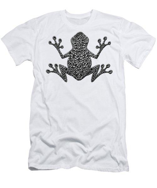 Metallic Frog Men's T-Shirt (Slim Fit) by Chris Butler