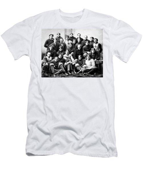 Michigan Wolverines Football Heritage  1895 Men's T-Shirt (Slim Fit) by Daniel Hagerman