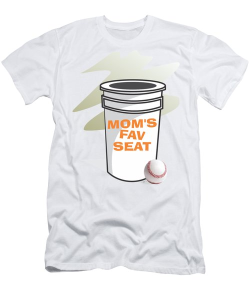 Mom's Favorite Seat Men's T-Shirt (Slim Fit) by Jerry Watkins