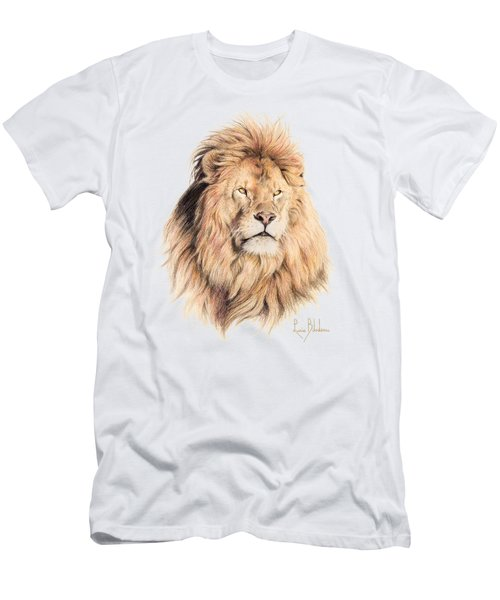 Mufasa Men's T-Shirt (Slim Fit) by Lucie Bilodeau