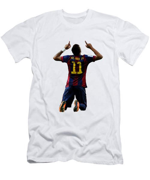 Neymar Men's T-Shirt (Slim Fit) by Armaan Sandhu