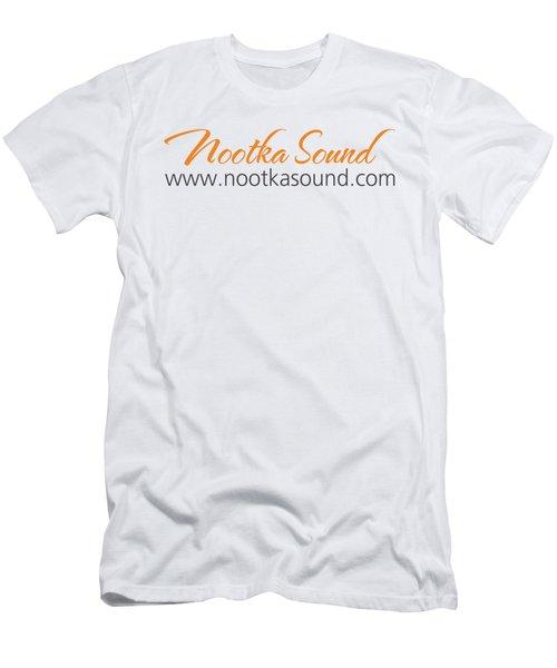 Nootka Sound Logo #12 Men's T-Shirt (Slim Fit) by Nootka Sound