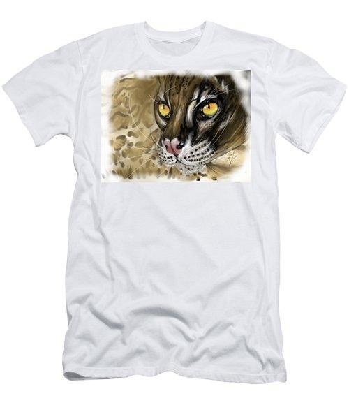 Ocelot Men's T-Shirt (Slim Fit) by Darren Cannell