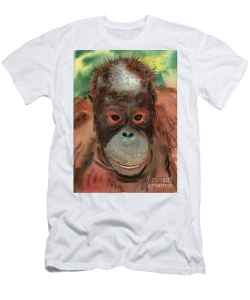 Orangutan Men's T-Shirt (Slim Fit) by Donald Maier
