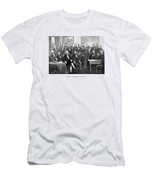 Our Presidents 1789-1881 Men's T-Shirt (Slim Fit) by War Is Hell Store