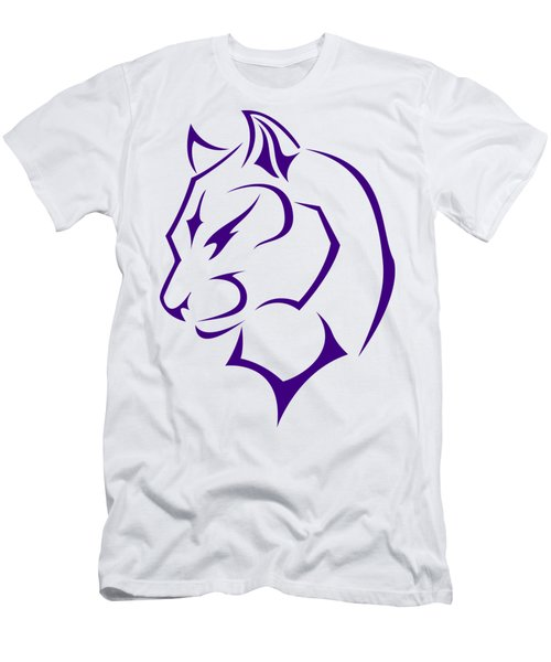Panther Men's T-Shirt (Slim Fit) by Frederick Holiday
