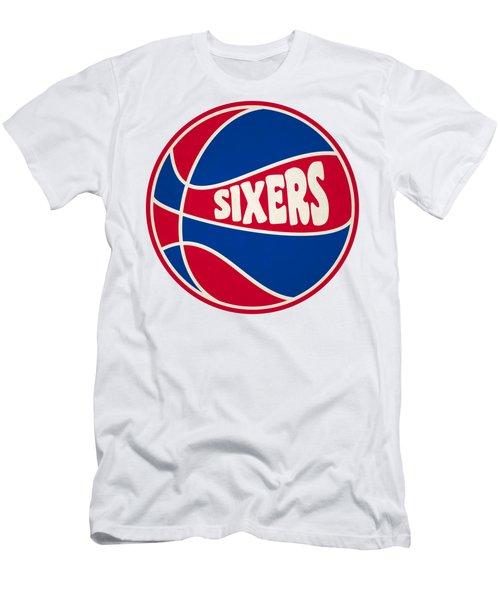 Philadelphia 76ers Retro Shirt Men's T-Shirt (Slim Fit) by Joe Hamilton