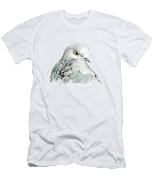 Pigeon Men's T-Shirt (Slim Fit) by Bamalam  Photography