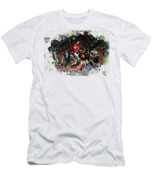 Pogba Street Art Men's T-Shirt (Slim Fit) by Don Kuing
