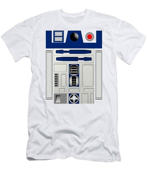 R2d2 Men's T-Shirt (Slim Fit) by Janis Marika