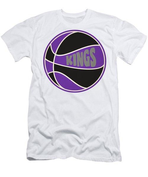 Sacramento Kings Retro Shirt Men's T-Shirt (Slim Fit) by Joe Hamilton