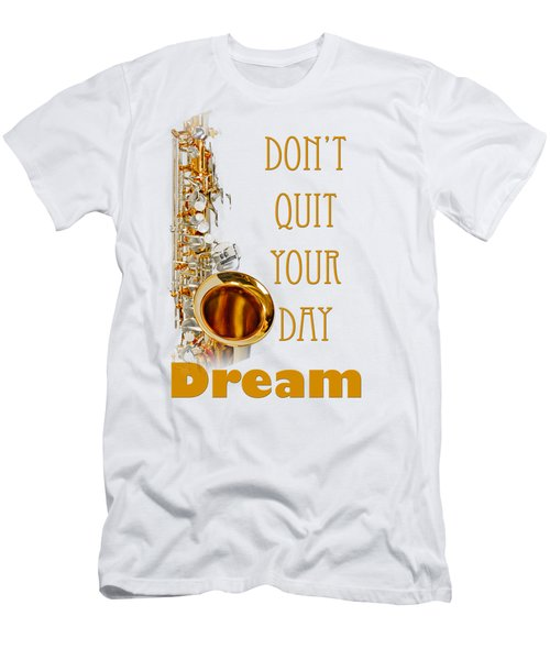 Saxophone Fine Art Photographs Art Prints 5019.02 Men's T-Shirt (Slim Fit) by M K  Miller