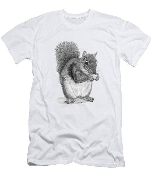 Squirrel #2 Men's T-Shirt (Slim Fit) by Rita Palmer