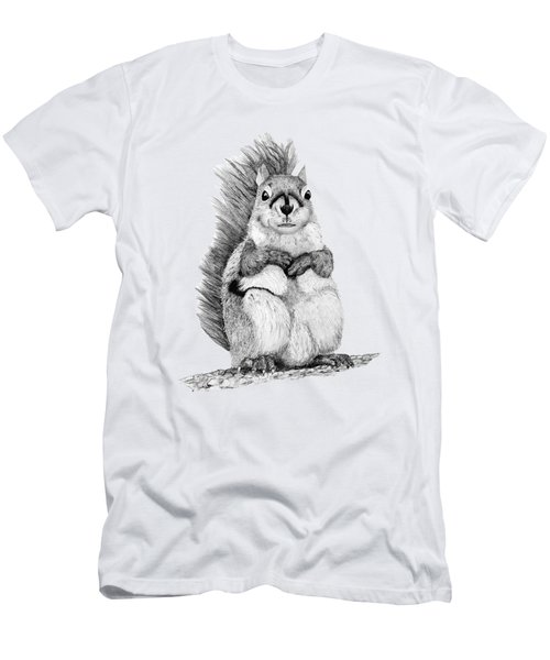 Squirrel Men's T-Shirt (Slim Fit) by John Stuart Webbstock