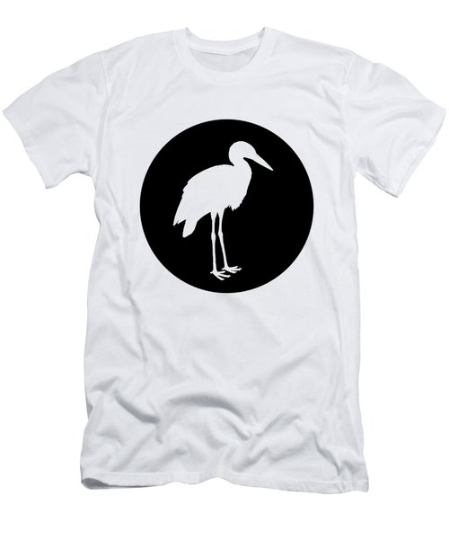 Stork Men's T-Shirt (Slim Fit) by Mordax Furittus