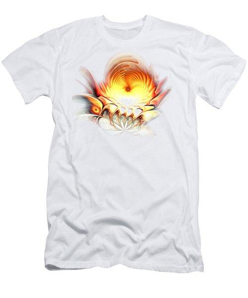 Sunrise In Neverland Men's T-Shirt (Slim Fit) by Anastasiya Malakhova