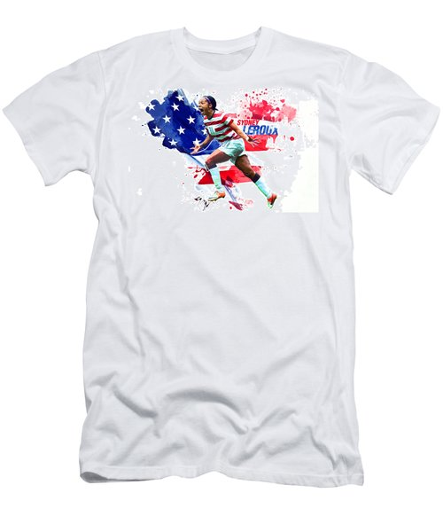 Sydney Leroux Men's T-Shirt (Slim Fit) by Semih Yurdabak