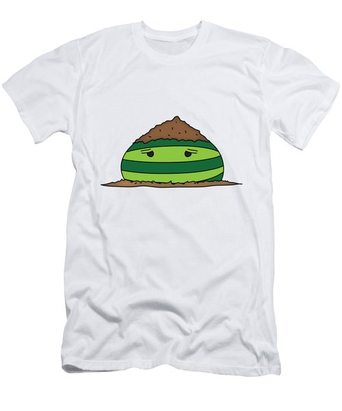 T H E . E L E M E L O N S ______________ E A R T H M E L O N Men's T-Shirt (Slim Fit) by H U M E A I M A R T