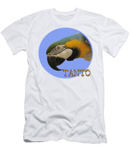 Tanto Men's T-Shirt (Slim Fit) by Zazu's House Parrot Sanctuary