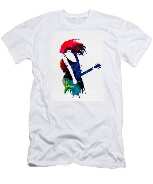 Taylor Watercolor Men's T-Shirt (Slim Fit) by Naxart Studio