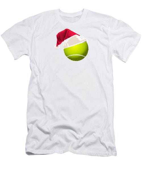 Tennis Christmas Gifts Men's T-Shirt (Slim Fit) by MGdezigns