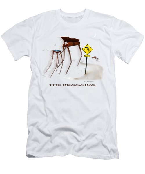 The Crossing Se Men's T-Shirt (Slim Fit) by Mike McGlothlen
