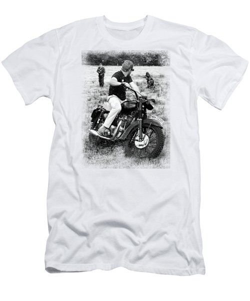 The Great Escape Men's T-Shirt (Slim Fit) by Mark Rogan
