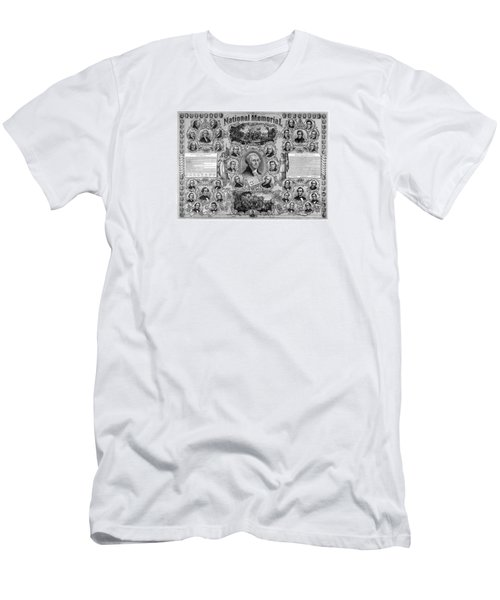 The Great National Memorial Men's T-Shirt (Slim Fit) by War Is Hell Store