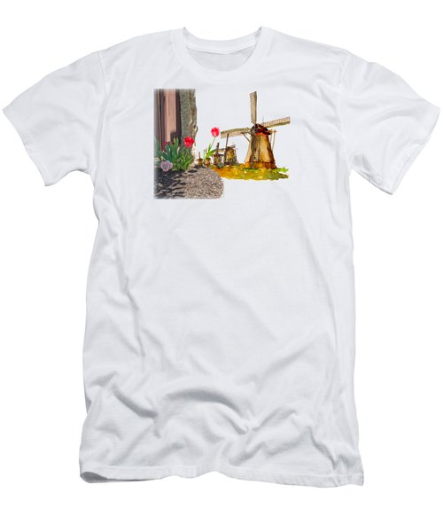 Thinkin Bout Home Men's T-Shirt (Slim Fit) by Larry Bishop
