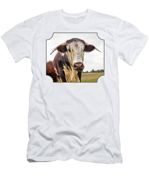 This Is My Field Men's T-Shirt (Slim Fit) by Gill Billington